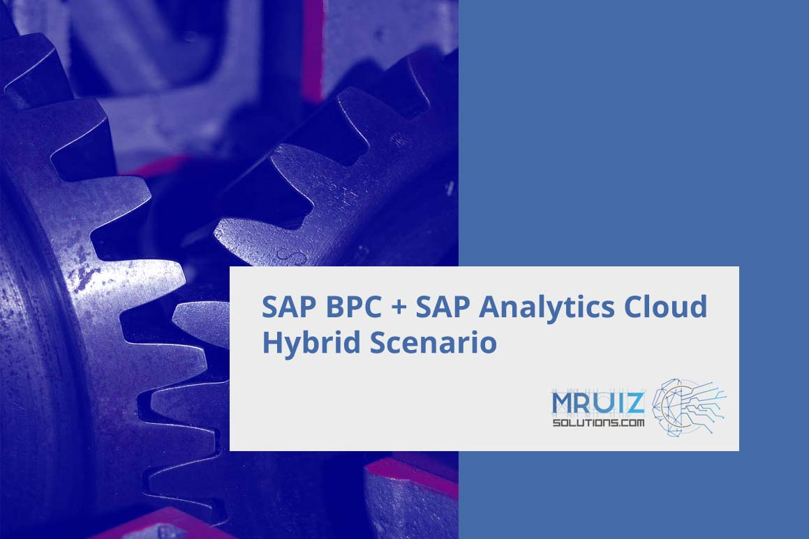 SAP BPC + SAC